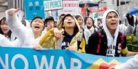 高校生が原宿でデモ、蠢く共産党、民主党の影、そして煽る朝日・毎日ー反日のマッチポンプ