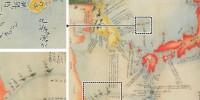 やっと見つかったニダ!『1802年の日本の地図に「独島は朝鮮」、「尖閣は中国」』 ヘェ〜凄いね(棒)